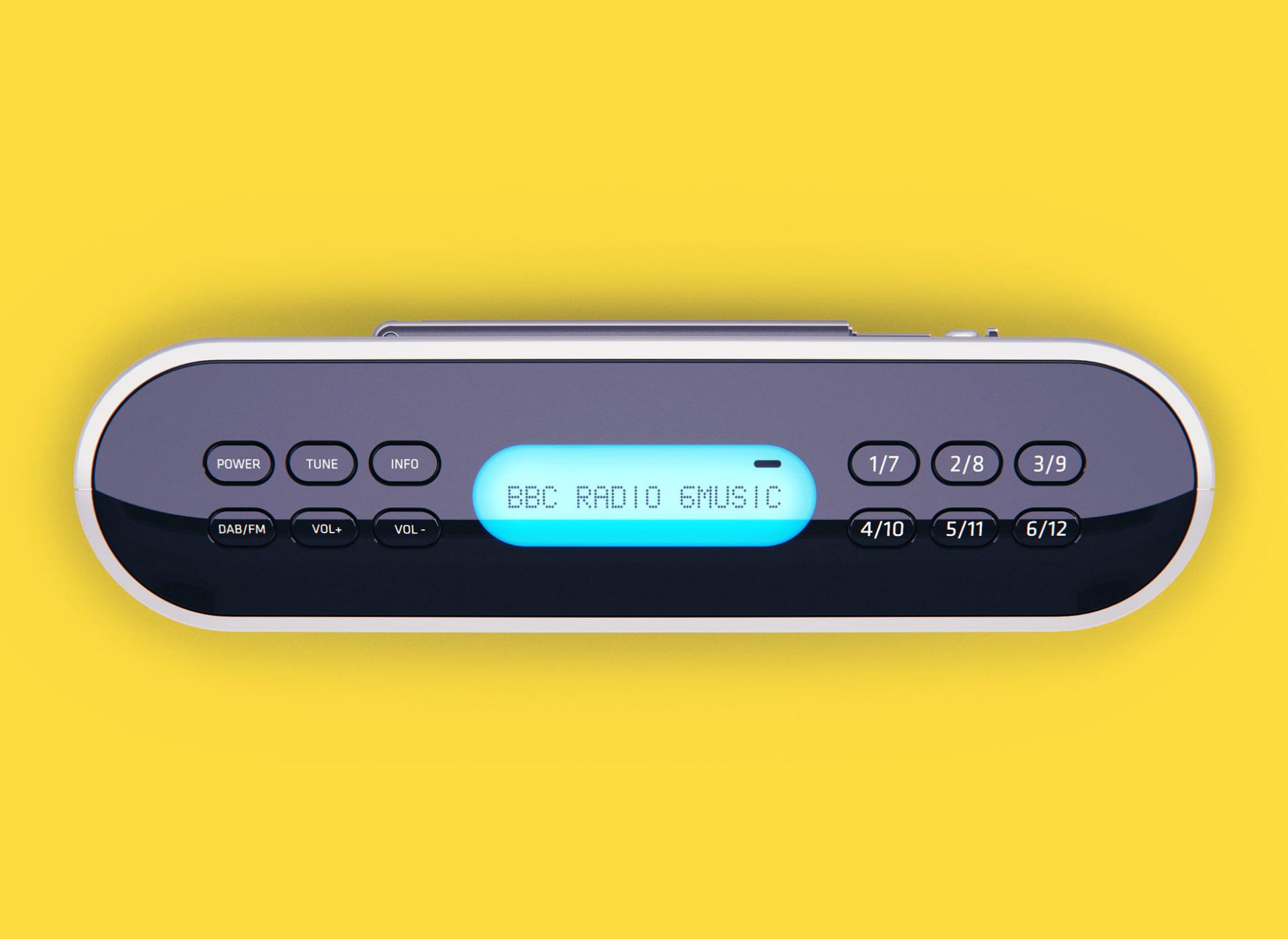 Bush DAB digital radio
