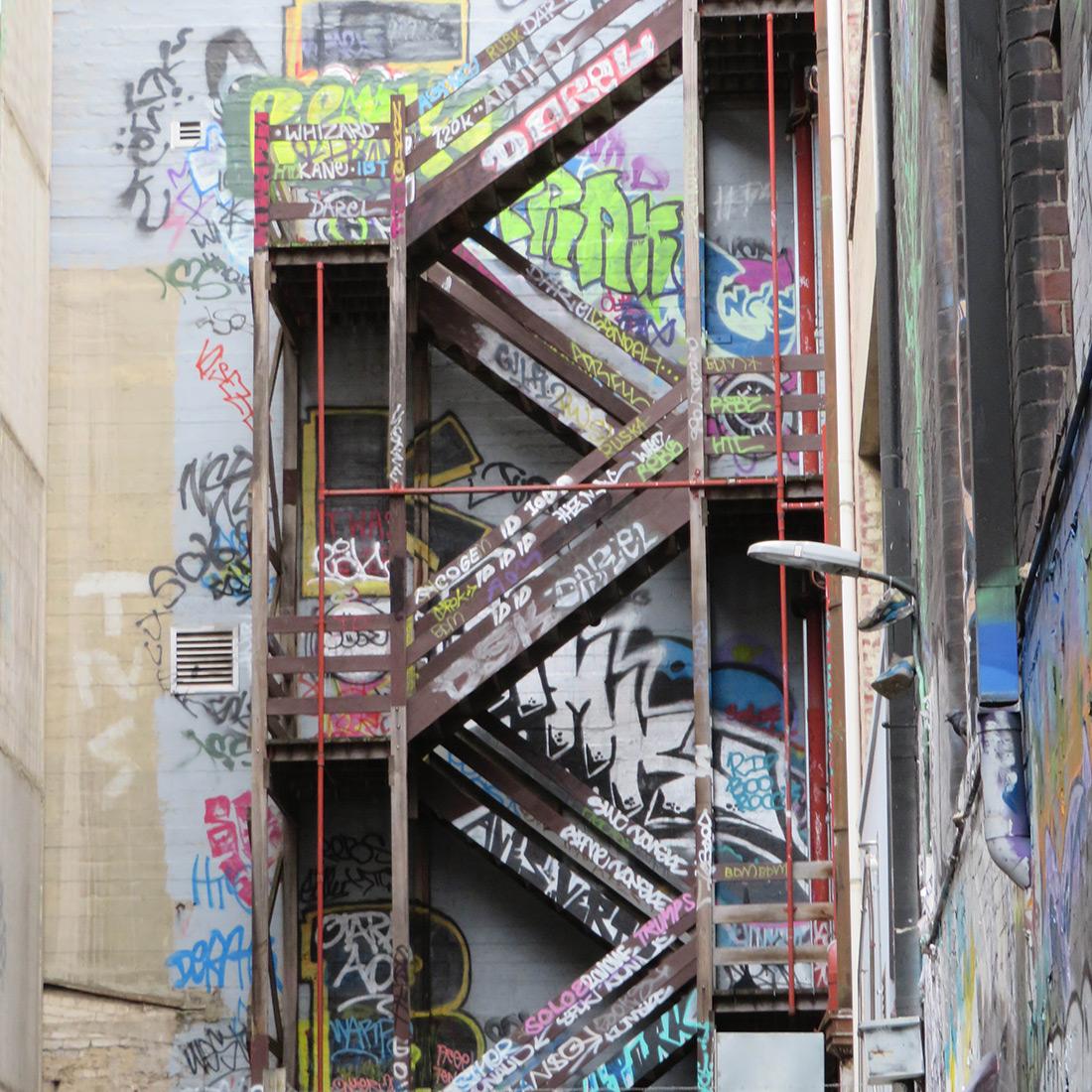 Melbourne Graffiti Street Art