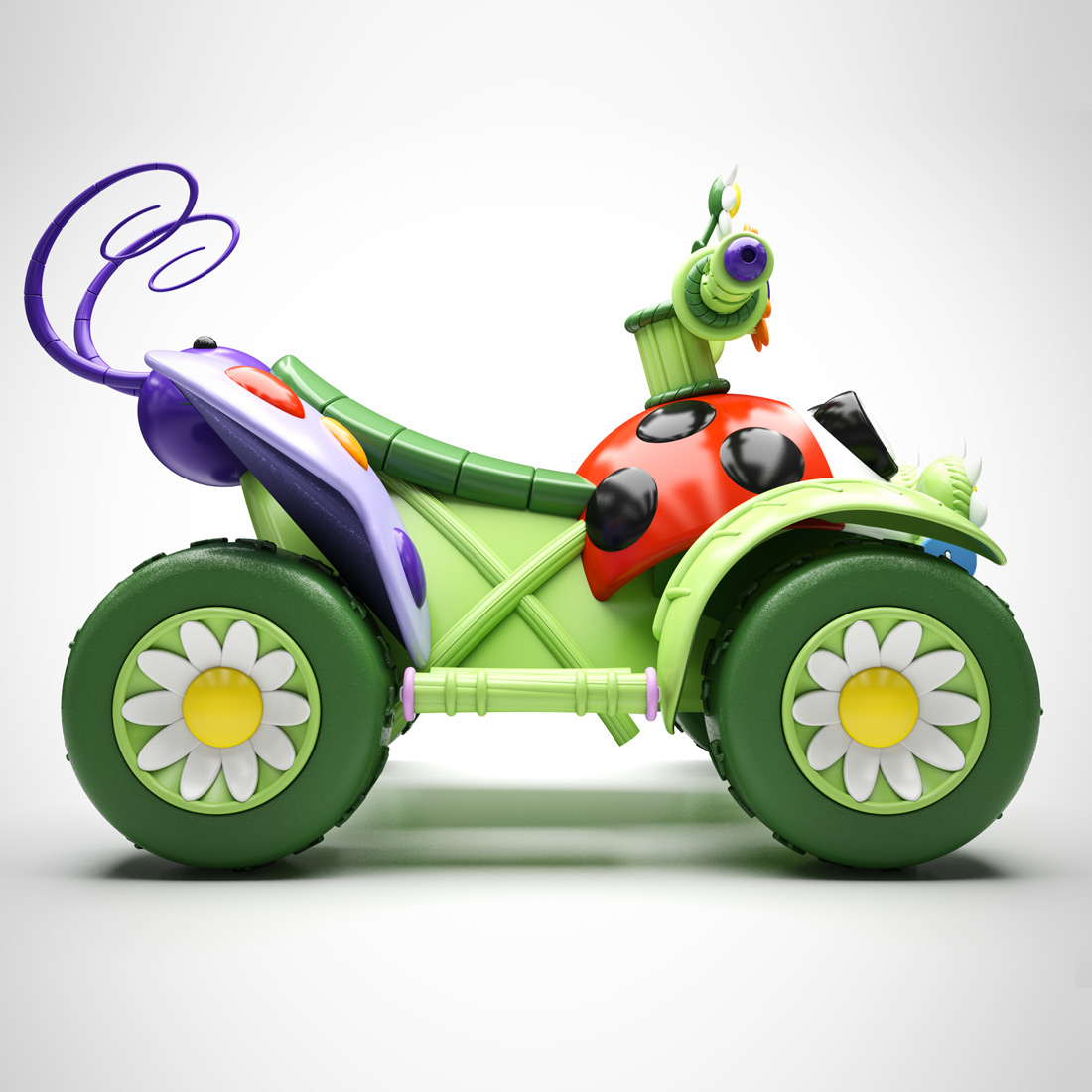fairies quadbike